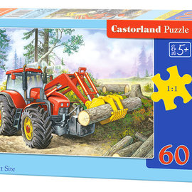 Castorland Castorland puzzel Forest Site (60 stukjes)
