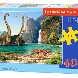 Castorland Castorland puzzel In the Dinosaurs World (60 stukjes)