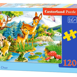 Castorland Castorland puzzel Little Deer (120 stukjes)