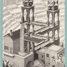 Puzzelman Puzzelman puzzel Waterval - Escher (1000 stukjes)