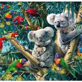Wentworth Wentworth houten puzzel - Koala Outback, Steve Read (250 stukjes)
