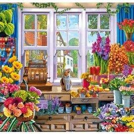 Wentworth Wentworth houten puzzel - Flower Shop, Steve Crisp (40 stukjes)