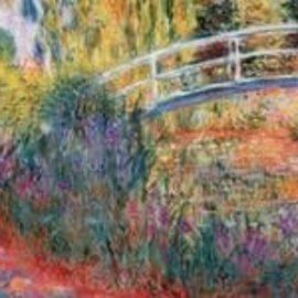 Wentworth Wentworth houten puzzel - Le Pont Japonais, Claude Monet (40 stukjes)