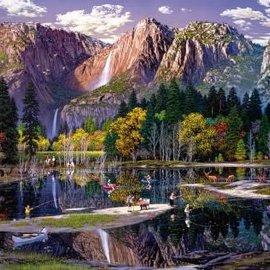 Wentworth Wentworth houten puzzel - Yosemite Fall, Alexander Chen (40 stukjes)