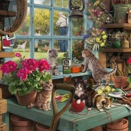Wentworth Wentworth houten puzzel - Grandpa's Potting Shed, Steve Read (40 stukjes)
