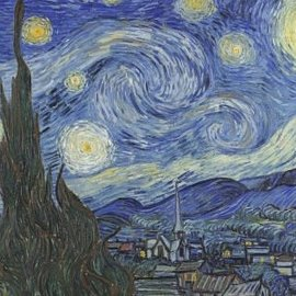 Wentworth Wentworth houten puzzel - The Starry Night, Vincent van Gogh (40 stukjes)