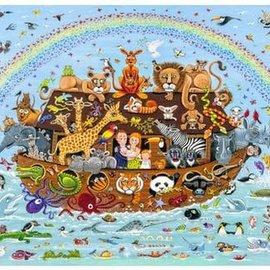 Wentworth Wentworth houten puzzel - Noah's Ark, Peter Barrett (40 stukjes)