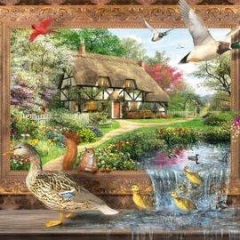 Wentworth Wentworth houten puzzel - Still To Life, Dominic Davison (40 stukjes)