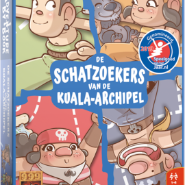 999 Games 999 Games Adventure by Book: de schatzoekers van de Kuala-archipel
