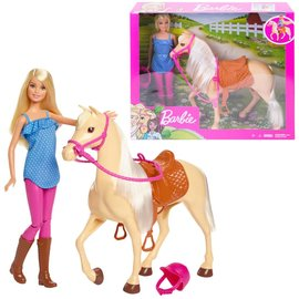 Barbie Barbie Paard en Pop