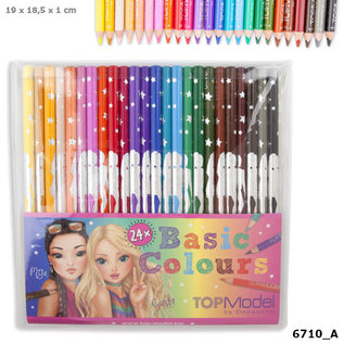TopModel TOPModel kleurpotloden 24 stuk