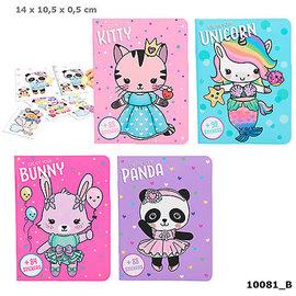 TopModel Dress Up Your Kitty, Panda, Unicorn, Bunny kleurboek
