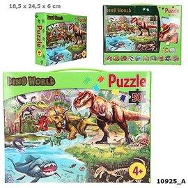 Dino World Dino World puzzel (50 stukjes)
