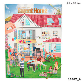 TopModel Create your Sweet Homekleurboek