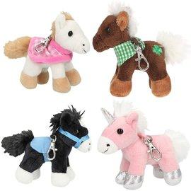 TopModel Horses Dreams kleine knuffelpaarden, hanger met karabijn(per stuk)