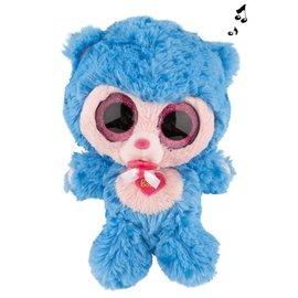 TopModel Minimoomis babyknuffel, blauw, 18cm