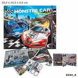 Dino World Monster Cars Stickerworld