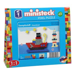 Ministeck Ministeck - Stoomboot (ca. 200 delig)