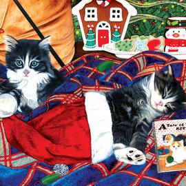 Sunsout SunsOut puzzel A Tale of two kittens (1000 stukjes)