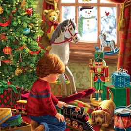 Cobble Hill SunsOut puzzel Boyhood Christmas (300 stukjes)