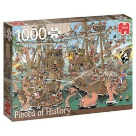 Jumbo 1000 Pieces of History - The Pirates (1000)