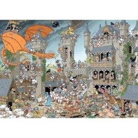 Jumbo 1000 Pieces of History - The Castle (1000 stukjes)