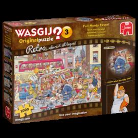 Jumbo Wasgij puzzel Original 3 Retro - Werk aan de Weg! (1000 stukjes)