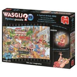 Jumbo Wasgij puzzel Mystery 15 - Een Echte Britse BBQ! (1000 stukjes)