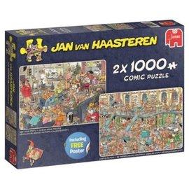 Jumbo Fijne Feestdagen 2 in 1 - Jan van Haasteren (1000)