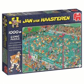 Jumbo Jan van Haasteren puzzel - Hockey Kampioenschappen (1000 stukjes)