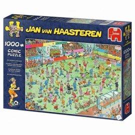Jumbo Jan van Haasteren puzzel - WK Vrouwenvoetbal (1000 stukjes)