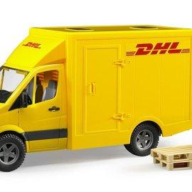 Bruder Bruder Mercedes Benz Sprinter DHL met elektrische pompwagen 1:16