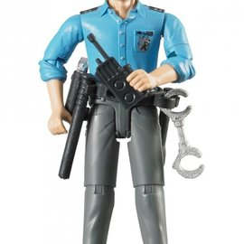 Bruder Bruder Bworld politieman: blank, met acc.