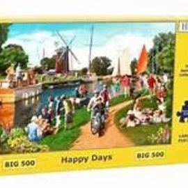 The House of Puzzles The House of Puzzles - Happy Days (500 Stukjes)