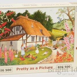 The House of Puzzles The House of Puzzles - Pretty as a picture (500 stukjes)