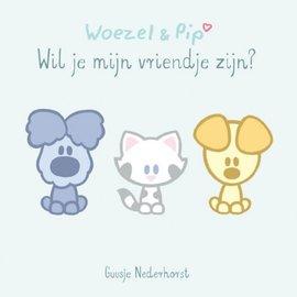 Boek Woezel & Pip - Wil jij mijn vriendje zijn? (uitvouwboekje)