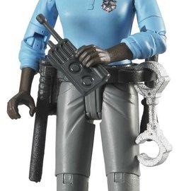 Bruder Bruder Bworld politievrouw: donker, met acc.