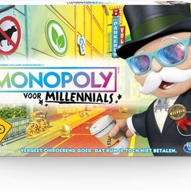 Hasbro Hasbro Monopoly voor millennials