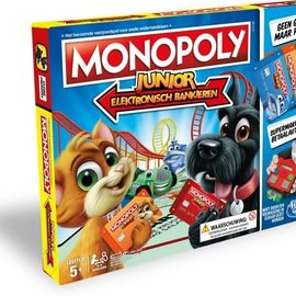 Hasbro Hasbro Monopoly -  Electronisch bankieren Junior