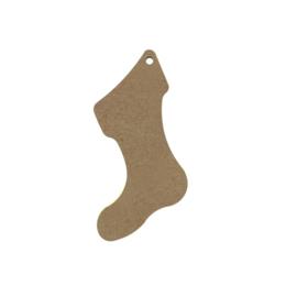 Gomille MDF figuur - Kerstsok (10 cm)