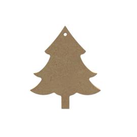 Gomille MDF kerstboom 10 cm