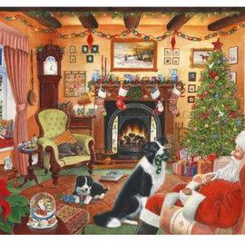 The House of Puzzles The House of Puzzles puzzel - Me Too, Santa! (1000 stukjes)