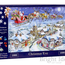 The House of Puzzles The House of Puzzles puzzel - Christmas Eve (1000 stukjes)