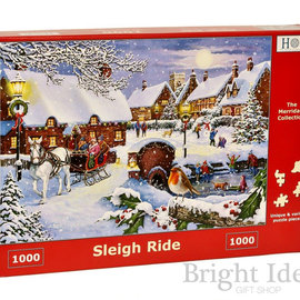 The House of Puzzles The House of Puzzles puzzel - Sleigh Ride (1000 stukjes)