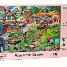 The House of Puzzles The House of Puzzles puzzel - Wartime Green (1000 stukjes)