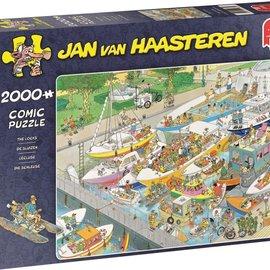 Jumbo Jan van Haasteren De sluizen (2000 stukjes)