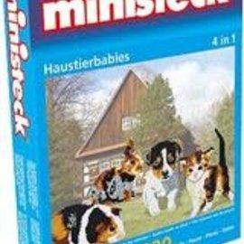 Ministeck Ministeck huisdierbaby's 4 in 1 ca. 1800 stukjes