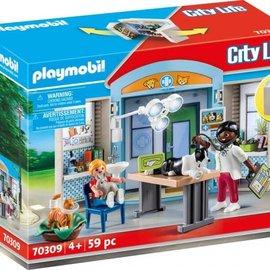 Playmobil Playmobil - Speelbox dierenarts (70309)