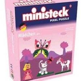 Ministeck Ministeck - Meisjesmotieven 4in1 (kleine Box)