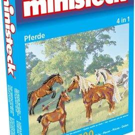 Ministeck Ministeck Paarden 4in1 (ca. 1500 stukjes)